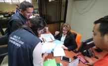Archivos. Los técnicos del Caces revisaron documentos en los diferentes archivos de la Universidad de Guayaquil.