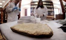 Obras. Los libros que se encuentran en el sitio datan desde antes de la conquista española.