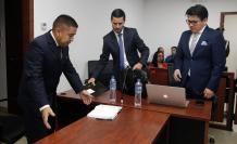 Audiencia preparatoria de juicio en el caso Froilán Jiménez.