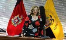Se trata de la tercera demanda de recusación interpuesta en contra de la jueza Daniella Camacho.