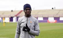 Stiven Plaza, futbolista ecuatoriano del Real Valladolid de España.