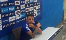"""Joao Rojas describió al DT azul como """"muy exigente""""."""