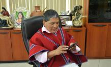 """Luis Chango, presidente de Mushuc Runa, ratificó que económicamente """"hay crisis en el fútbol ecuatoriano""""."""
