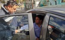 Detención de Jorge Calderón, dirigente de los taxistas.