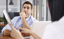 Referencial. Las preguntas 'trampa' evalúan la reacción de respuesta de los candidatos a un puesto de trabajo.