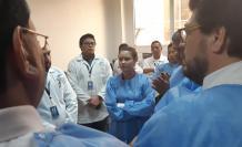 La inspección a las instalaciones de la agencia de control sanitaria es parte del trámite para el juicio político a la exministra de Salud.