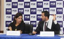 Resultados. El miércoles pasado, la fiscal Ruth Palacios y el secretario Anticorrupción Iván Granda informaron los resultados del viaje a Brasil.
