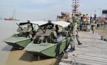 Los infantes de marina ecuatorianos se han preparado durante los últimos meses para participar en los ejercicios navales.