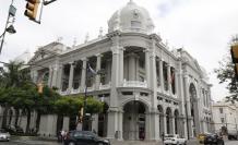 Referencial. Fachada del Municipio de Guayaquil.