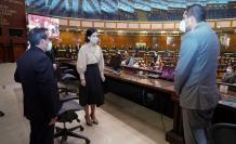 Posesión de María Alejandra Muñoz de vicepresidenta
