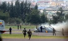A los helicópteros Dhruv se les detectó fallas mecánicas.