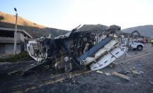 El bus se accidentó el 14 de agosto. Los pasajeros era de nacionalidad venezolana y colombiana.