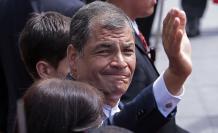 Expresidente Rafael Correa.