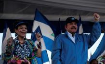 Al mando. Daniel Ortega llegó por primera vez al poder en 1979.