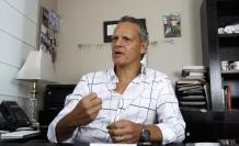 Esteban Paz, propietario también de Sports Planet, atendió a EXPRESIONES en sus oficinas situadas el norte de Quito.