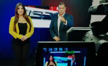 Sofía Caiche y Luis Fernando Anangonó