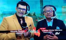 Santiago Carpio y Carlos Víctor Morales.
