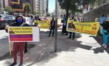 CNE- protesta- Noboa- partidos