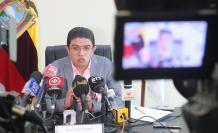 Diego Maldonado, gerente de CNEL