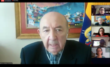 Canciller Luis Gallegos
