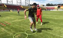 Aucas+Entrenamiento+Fútbol+LigaPro+Fecha