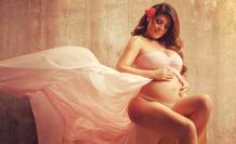 Sofía Caiche embarazada