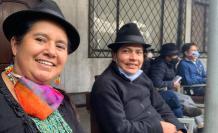 Lourdes Tibán en la Asamblea del MICC, 14 ago. 2020