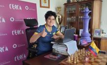 Carla Heredia ajedrez Ecuador