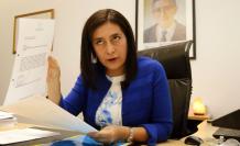 Johanna Pesantéz secretaria Jurídica de la Presidencia