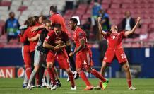 Un gol de Kingsley Coman al borde de la hora partido dio el triunfo ante el París Saint Germain al Bayern Múnich (0-1)