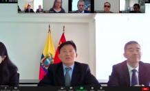 Embajador de China en el Ecuador