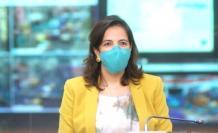 María Paula Romo habló sobre cómo se efectuarán las medidas de bioseguridad el día de las votaciones.
