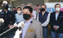 Marcelo Hallo presentó una iniciativa de revocatoria del mandato contra Jorge Yunda