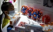 coronavirus china muestra vacunas publico