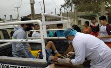 obrero poste Santa Elena