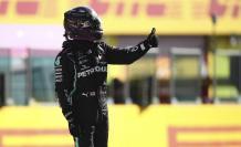 Lewis Hamilton pole GP Mugello