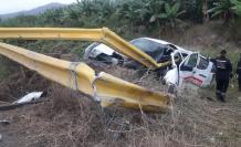 accidente vía Guayaquil - Salinas