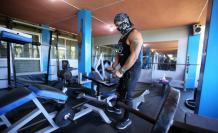 Luis Higuera, propietario de un gimnasio en los valles de Quito