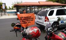 Motociclistas salieron a protestar durante tres días, contra la reforma.
