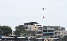 Bandera helicóptero