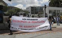 La protesta pública se extiende a la Universidad Politécnica Salesiana.