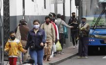 Las restricciones a la movilidad no se cumplen en Quito.