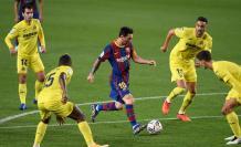 Lionel+Messi+Barcelona+Villarreal