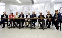 Imagen de archivo de los integrantes del partido político Fuerza Alternativa Revolucionaria de Común (FARC).