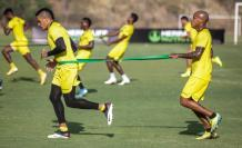 Barcelona entrenamiento Ecuador