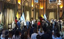 Sesión solemne por el Bicentenario de Independencia de Guayaquil.