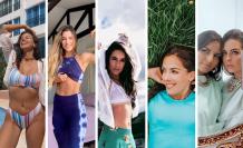 Francesca Cipriani, Constanza Báez, FitFrutilla, María Teresa Guerrero y Zus93.