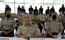 Patricio Carrillo, comandante general de la Policía, en el juicio político a María Paula Romo, 28 oct. 2020