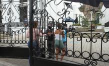 Puertas de los cementerios de la ciudad estuvieron abiertas al público hasta hoy.