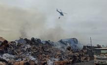 Más de 500 bomberos han participado en apagar el incendio.